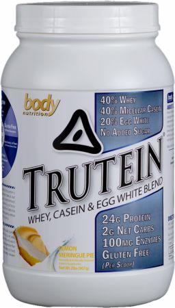 Image of Trutein Lemon Meringue Pie 2 Lbs. - Protein Powder Body Nutrition