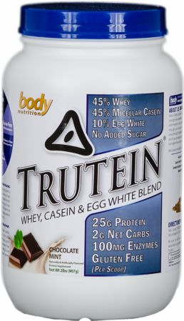 Image of Trutein Chocolate Mint 2 Lbs. - Protein Powder Body Nutrition