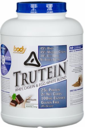 Image of Trutein Chocolate Mint 4 Lbs. - Protein Powder Body Nutrition