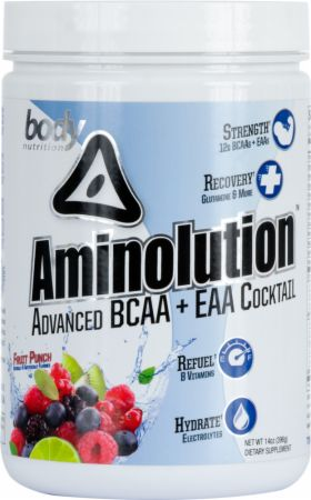 Image of Body Nutrition Aminolution 14 Oz. Fruit Punch