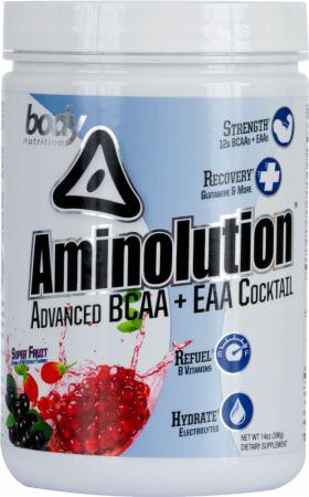 Image of Body Nutrition Aminolution 14 Oz. Superfruit
