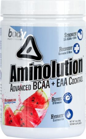 Image of Body Nutrition Aminolution 14 Oz. Watermelon