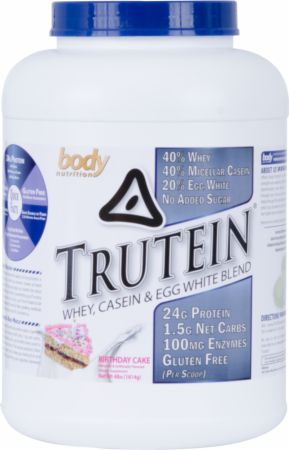 Image of Trutein Birthday Cake 4 Lbs. - Protein Powder Body Nutrition