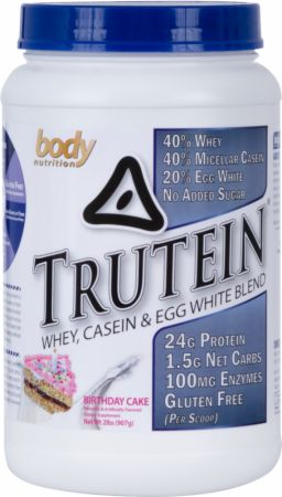 Image of Trutein Birthday Cake 2 Lbs. - Protein Powder Body Nutrition