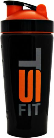 Image of TS FIT Stainless Steel Shaker Cup 25 Oz. Black and Orange
