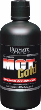 Ultimate Nutrition MCT Gold Glass Bottle