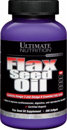 Ultimate Nutrition Flax Seed Oil