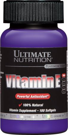 Ultimate Nutrition Natural Vitamin E