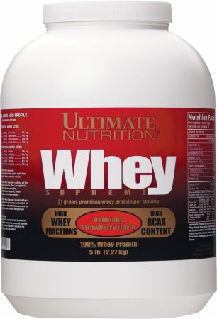 Ultimate Nutrition Whey Supreme の BODYBUILDING.com 日本語・商品カタログへ移動する
