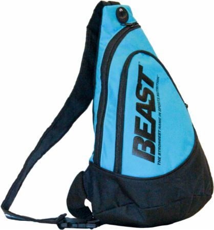 Image of Beast Sports Nutrition Beast Wear Sling Bag Black/Blue