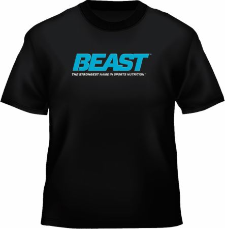 Image of Beast Sports Nutrition Unleash The Beast Tee Large Black