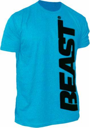 Image of Beast Sports Nutrition Beast Wear Oversized Beast Tee Medium Blue