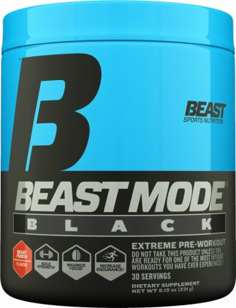 Beast Sports Nutrition Beast Mode Black Beast Punch 30 Servings...