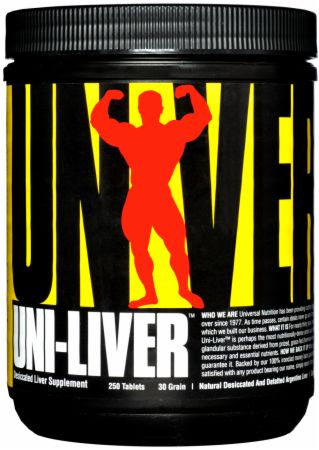 Image of Uni-Liver 250 Tablets - Amino Acids & BCAAs Universal Nutrition