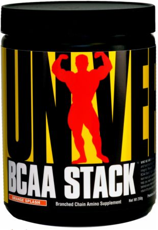 Universal Nutrition BCAA Stack Orange 250 Grams - Amino Acids & BCAAs