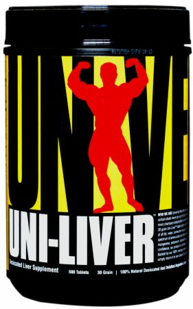 Image of Uni-Liver 500 Tablets - Amino Acids & BCAAs Universal Nutrition