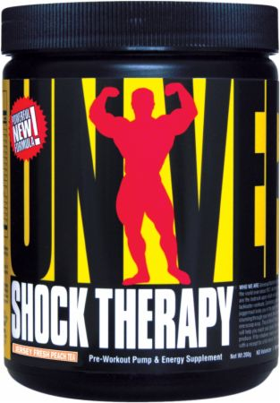 Universal Nutrition Shock Therapy Jersey Fresh Peach Tea 200 Grams - Pre-Workout Supplements