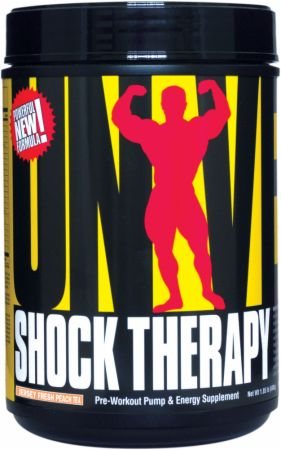 Universal Nutrition Shock Therapy Jersey Fresh Peach Tea 840 Grams - Pre-Workout Supplements
