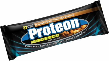 Universal Nutrition Proteon Bars Double Peanut Butter Deluxe 12 - 102g Bars - Protein Bars