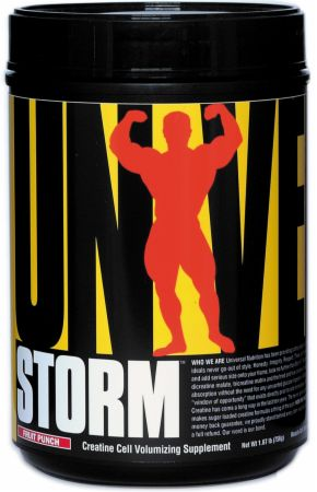 Universal Nutrition Storm Fruit Punch 80 Servings - Pre-Workout Supplements