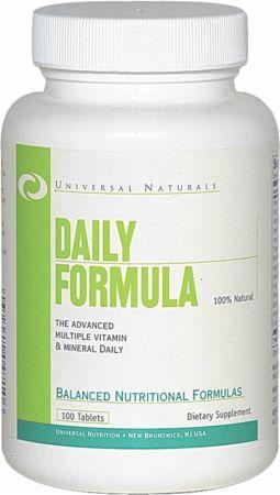 Universal Daily Formula