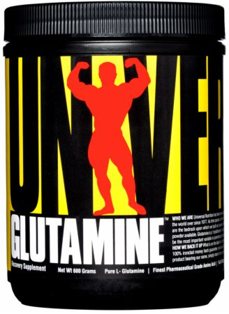 Image of Glutamine Unflavored 600 Grams - Post-Workout Recovery Universal Nutrition