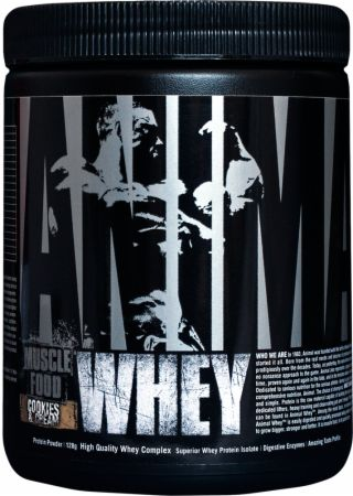 Universal Nutrition Animal Whey Cookies & Cream 4 Servings - Protein Powder