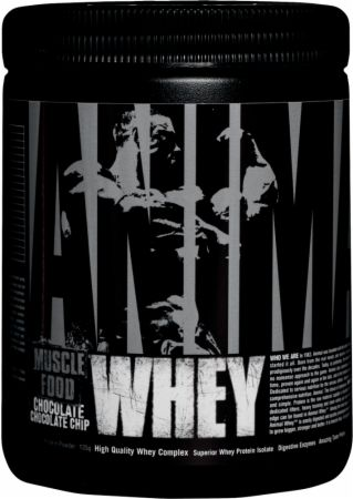 Universal Nutrition Animal Whey Chocolate Chocolate Chip 4 Servings - Protein Powder