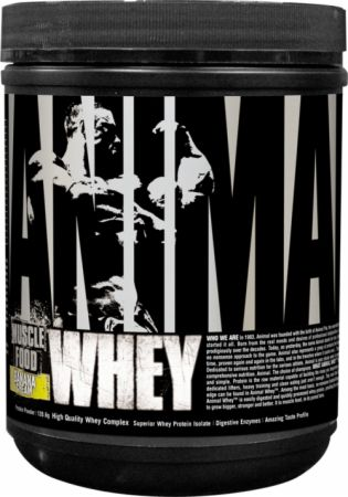 Universal Nutrition Animal Whey Banana Cream 4 Servings - Protein Powder