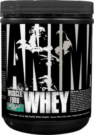 Universal Nutrition Animal Whey Chocolate Mint 4 Servings - Protein Powder