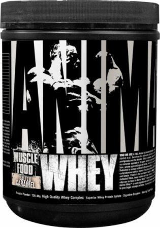 Universal Nutrition Animal Whey Salted Caramel 4 Servings - Protein Powder