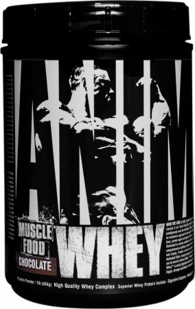 Universal Nutrition Animal Whey Chocolate 1 Lb. - Protein Powder