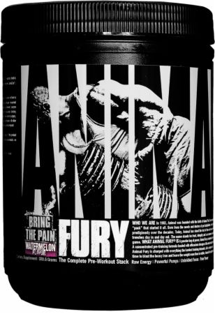 Universal Nutrition Animal Fury Watermelon 20 Servings - Pre-Workout Supplements