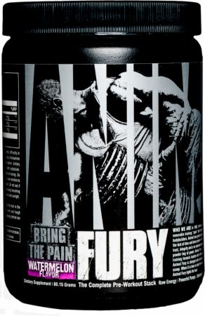 Animal Fury Watermelon 5 Servings - Pre-Workout Supplements Animal