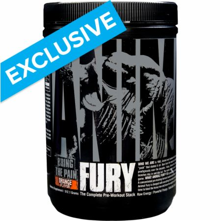 Image of Animal Fury Orange 30 Servings - Pre-Workout Animal