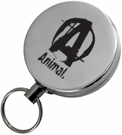 Animal Retractable Keychain