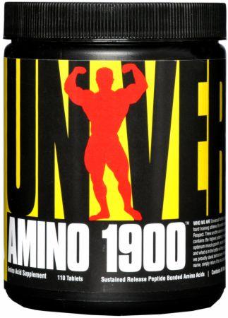 Universal Nutrition Amino 1900 110 Tablets - Amino Acids & BCAAs