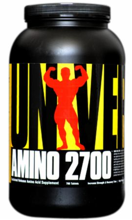 Image of Amino 2700 700 Tablets - Amino Acids & BCAAs Universal Nutrition