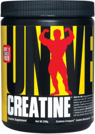 Muscle mass increase creatine