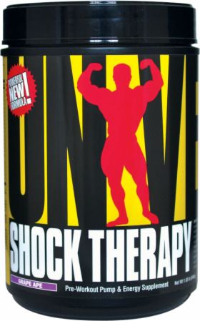 Universal Nutrition Shock Therapy Grape Ape 840 Grams - Pre-Workout Supplements