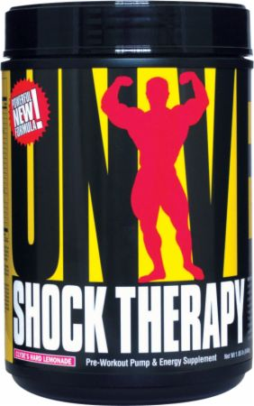 Universal Nutrition Shock Therapy Clyde's Hard Lemonade 840 Grams - Pre-Workout Supplements
