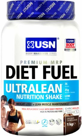 Image of USN Diet Fuel Ultralean 1 Kilogram Chocolate Cream
