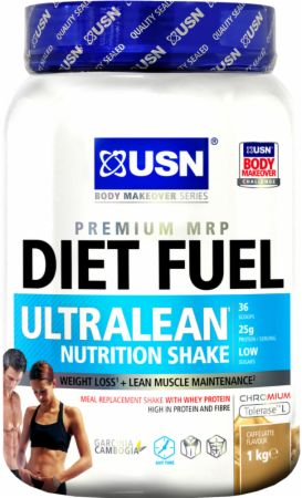 Image of USN Diet Fuel Ultralean 1 Kilogram Caffe Latte