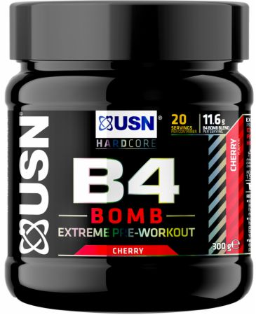 Image of B4 Bomb Cherry 300 Grams - Pre-Workout Supplements USN
