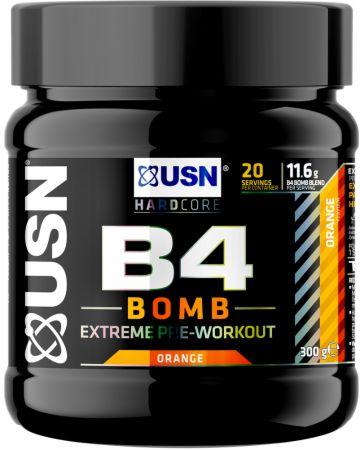 Image of B4 Bomb Orange 300 Grams - Pre-Workout Supplements USN