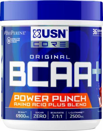 Image of BCAA Power Punch Cherry 400 Grams - Amino Acids & BCAAs USN
