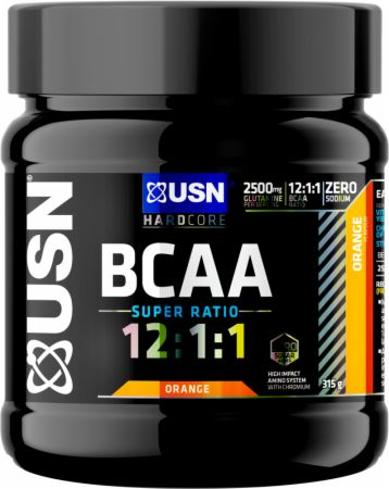 Image of BCAA 12:1:1 Orange 30 Servings - Amino Acids & BCAAs USN