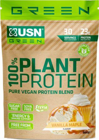 Image of 100% Plant Protein Vanilla Maple 900 Grams - Protein Powder USN