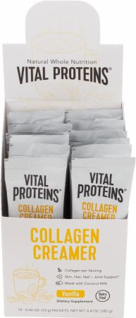 Image of Collagen Creamer Vanilla 14 Packets - Condiments Vital Proteins
