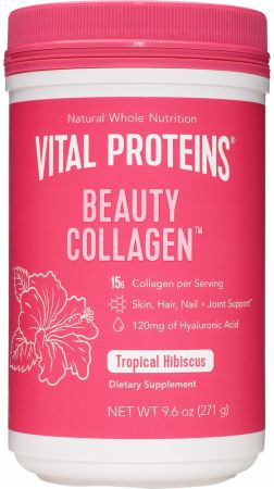 Image of Beauty Collagen Tropical Hibiscus 9 Oz. - Joint Support Vital Proteins